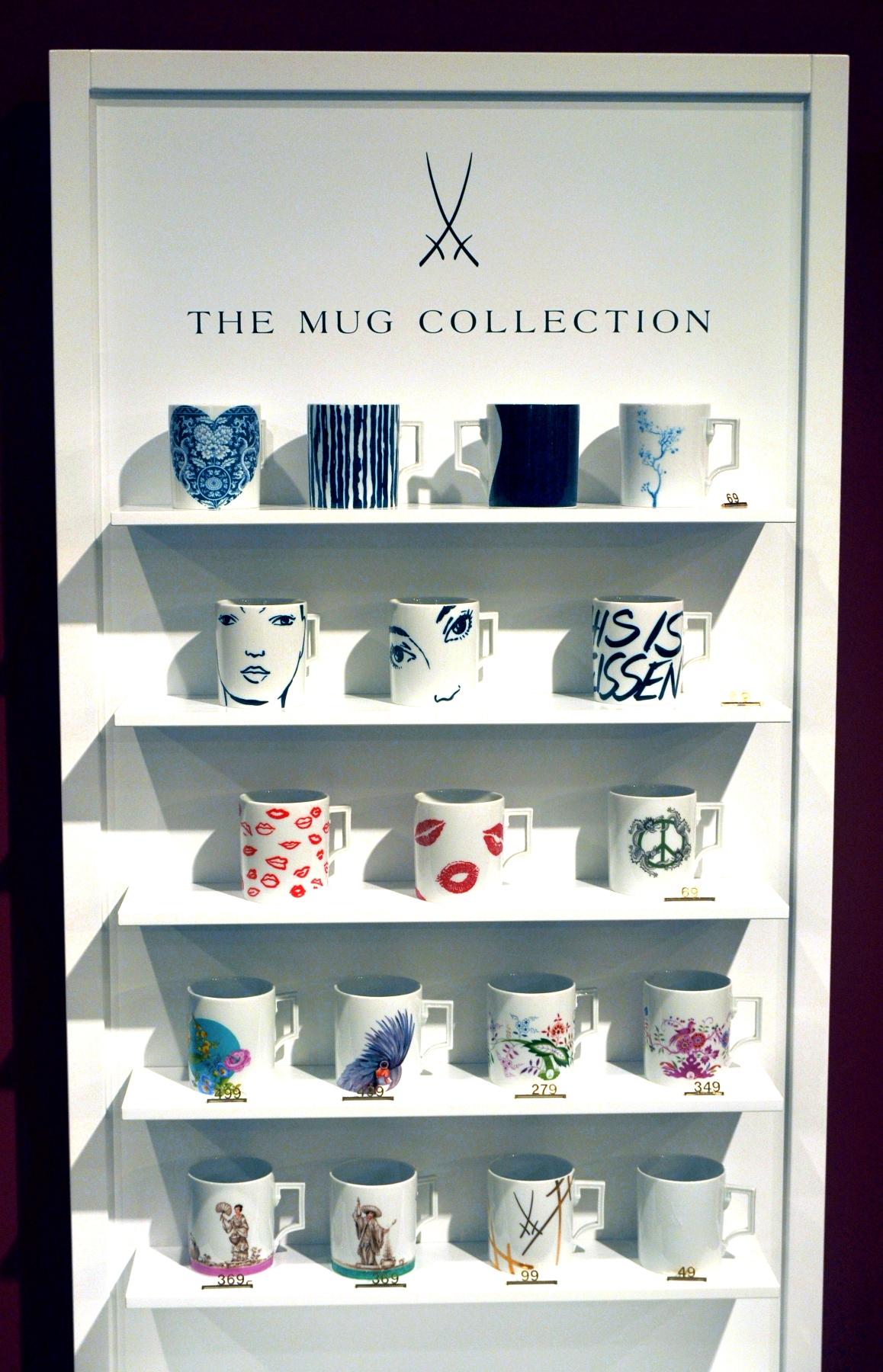 Manufakturen-Blog: Aufsteller für die Mugs im Handel (Foto: Wigmar Bressel)