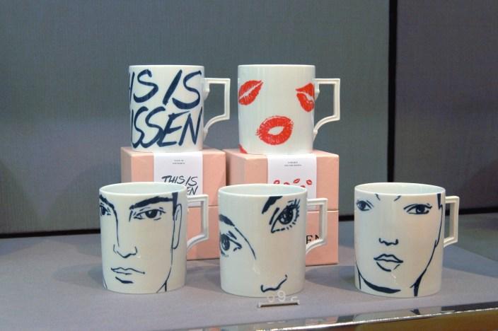 Manufakturen-Blog: Mug-Parade im Werksverkauf der Porzellanmanufaktur Meissen (Foto: Wigmar Bressel)