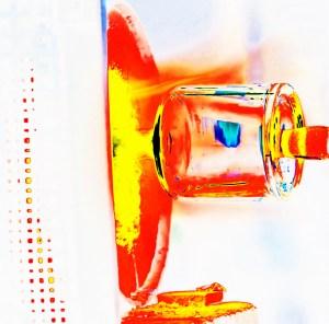 Manufakturen-Blog: Schlegelflasche, orange 2019 (Bild: Wigmar Bressel)