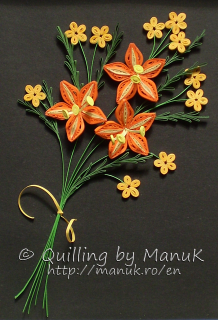 Quilled Bouquet