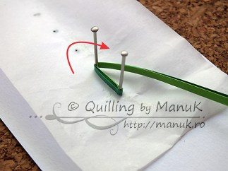 Quilled Grass Tutorial 03