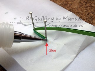 Quilled Grass Tutorial 04