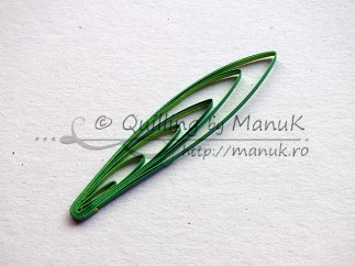 Quilled Grass Tutorial 08