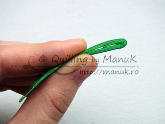Quilled Grass Tutorial 10