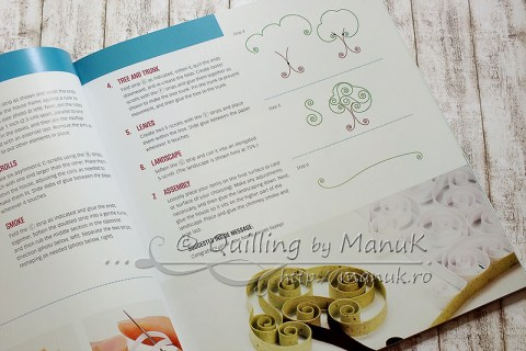 Pretty Quilled Cards - Instructions