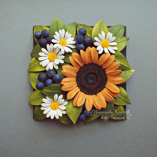 Summer Mood – Floral Tile IV