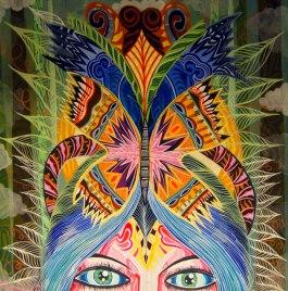 """""""El sueño de una mariposa"""" (The Butterfly's dream)"""
