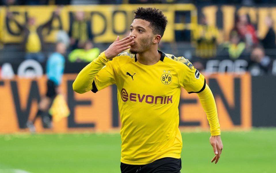 Manchester United target Sancho breaks silence on form