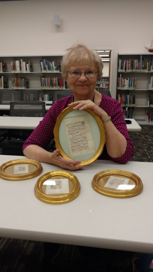 Three small Book of Hours leaves and an important leaf of the Wilton Processional!