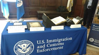 The books awaiting repatriation