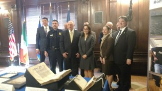 The United States team of attorneys and Homeland Security agents who handled the case