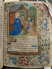 The Nativity (Prime, Hours of the Virgin, f. 42)