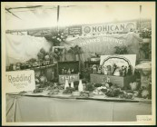 A 1953 Danbury Fair display compared a Pilgrim-era Thanksgiving with a contemporary one, celebrated by Americans of many ethnic backgrounds. Photograph by Clarence F. Korker. 1999.5.7