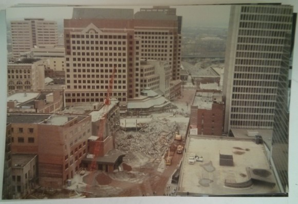 The rubble after the implosion. Richard Welling. 2012.284.3536