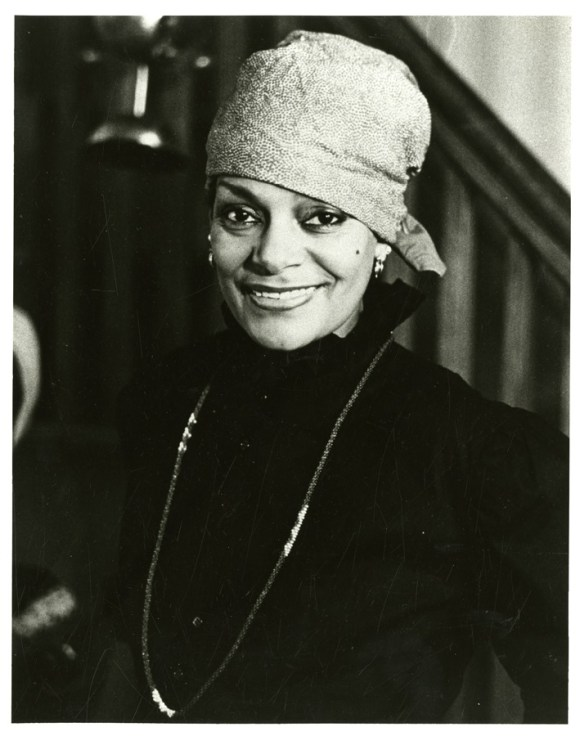 "Ms 84342 Dollie McLean. This is a photographic reproduction by Robert J. Bitondi, and was included in the research collection, Black Women of Connecticut, for the CHS exhibition ""Achievements against the Odds""."