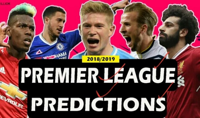 Premier league predictions 11-12/1/19