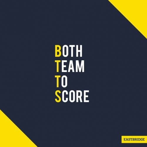 Both teams to score 30/07/2021