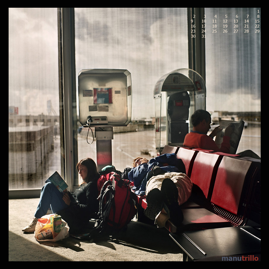 Espera en el Aeropuerto de Charles de Gaulle.