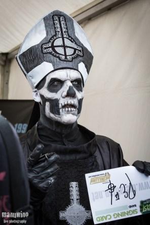 DEDICACE GHOST - Hellfest 2013