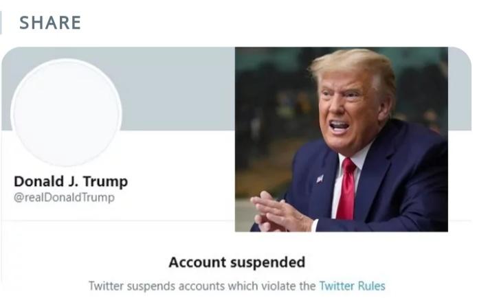 ट्रंप को ट्विटर का बड़ा झटका