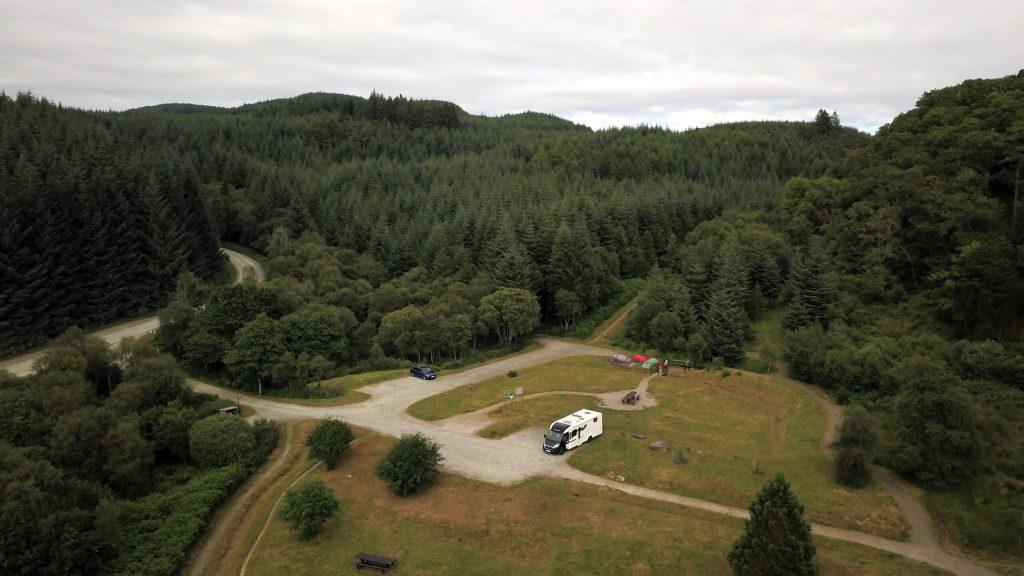 Drone at Achnabreac