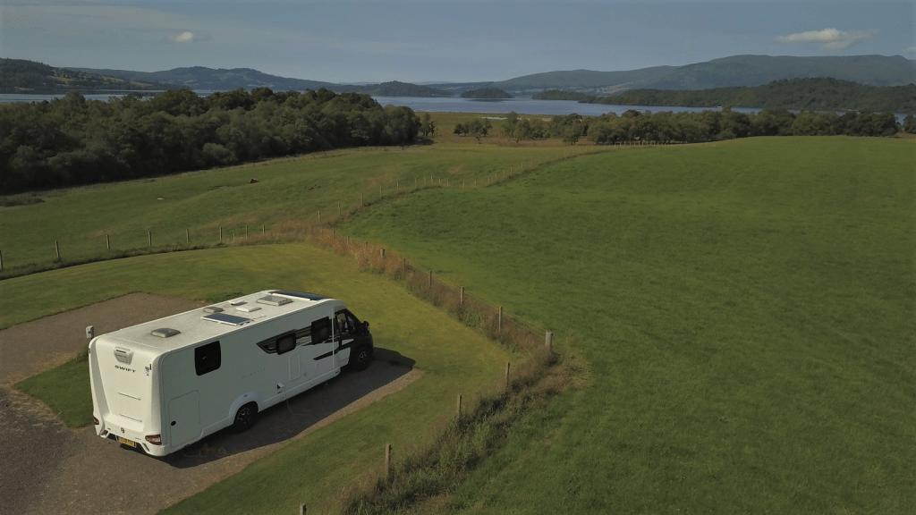 Bessie overlooking Loch Lomond