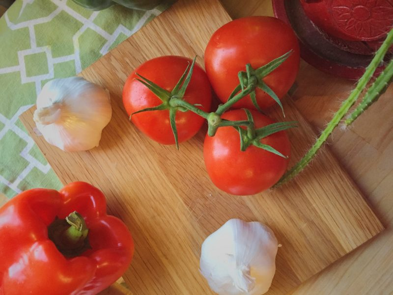Tomatoes and garlic - why you should be batch cooking