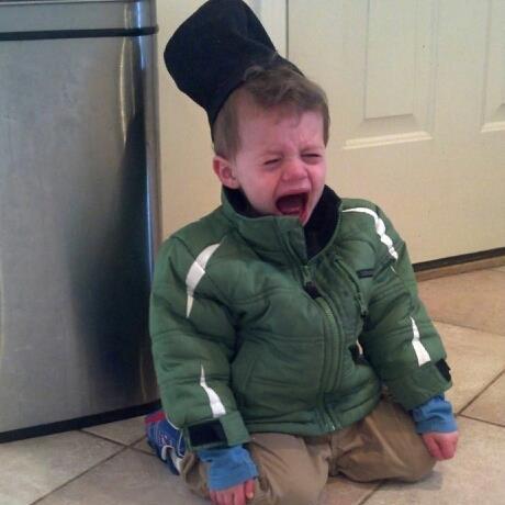 man tantrum