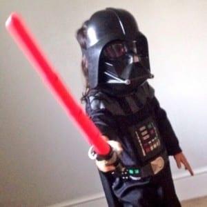 Star Wars girl, Darth Vader Girl
