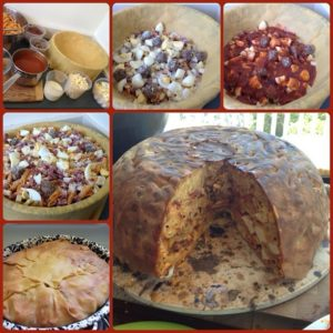 big night timbale, the big night timballo, big night timpano recipe