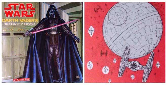 Death Star cookies, Star Wars, Darth Vader Activity book