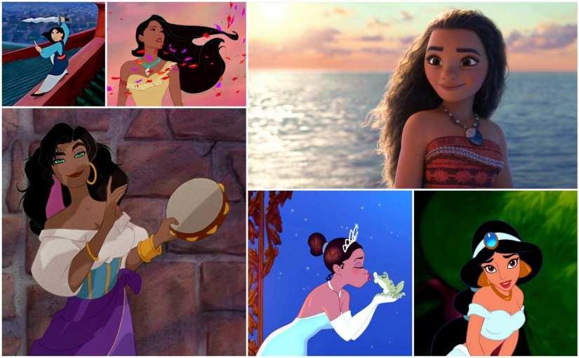 Disney Princesses of Color, Disney Princesses of Colour, Disney Women of Color, Disney Women of Colour