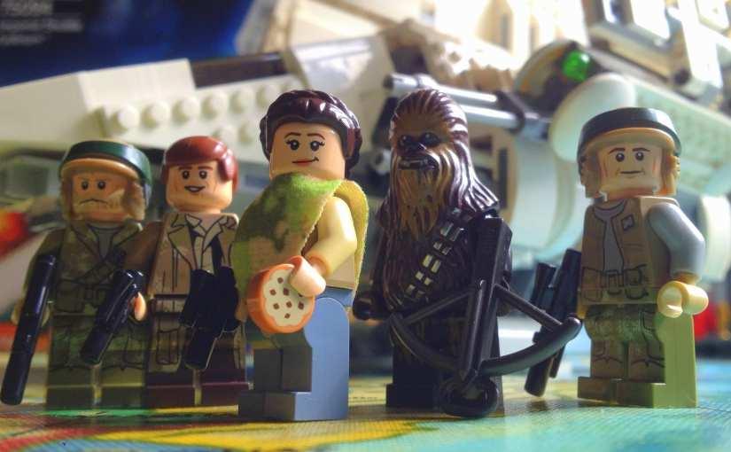 LEGO Star Wars Imperial Shuttle Tydirium Review (75094)