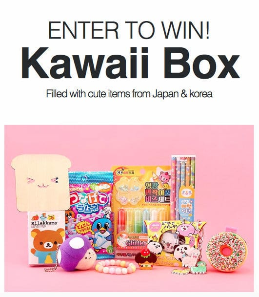 Kawaii Box Man vs Pink Giveaway August 2015