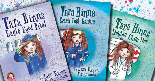 Tara Binns Books, Lisa Rajan, gifts for girls, books for girls, best books for girls