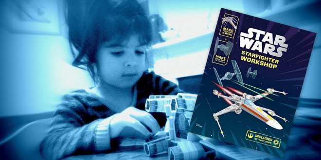 Star Wars Starfighter workshop, star wars activities for kids