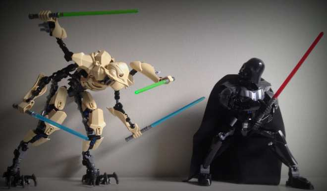 General Grievous vs Darth Vader