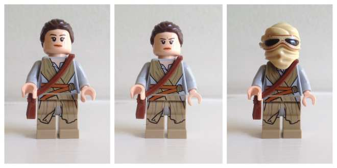 Rey LEGO Star Wars minifigure