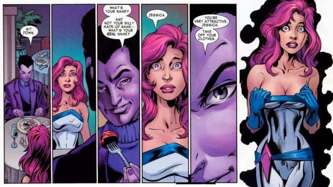 Jessica Jones Purple Man, Alias, Jessica Jones TV show, Brian Michael Bendis, Mark Bagley