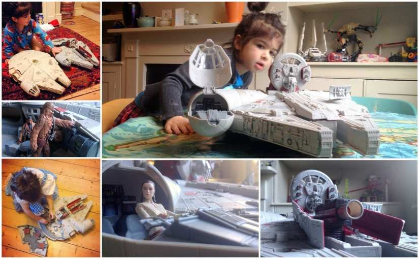 millennium falcon battle action, finn, rey, star wars 7 millennium falcon toy, Star Wars The Force Awakens