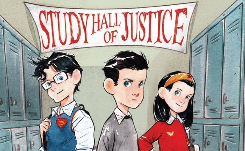 DC Comics Secret Hero Society - Study Hall of Justice, Derek Fridolfs, Dustin Nguyen, DC Comics LIL' GOTHAM, Kid Versions of BATMAN SUPERMAN WONDER WOMAN