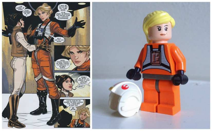 Female Star Wars Characters: The Importance of a lady X-Wing pilot
