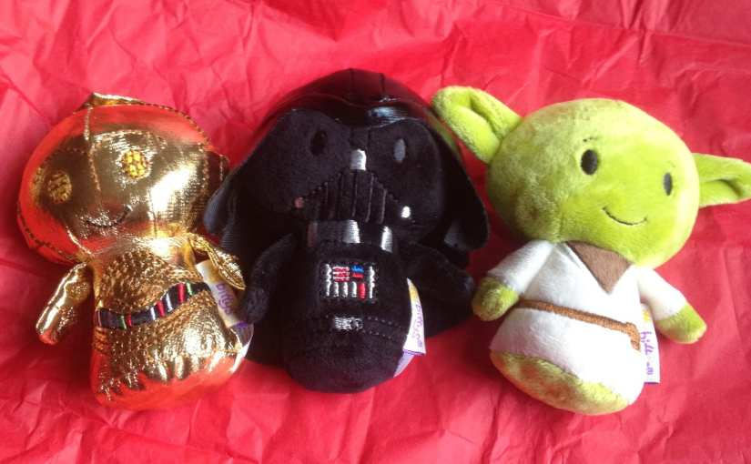 Star Wars plush toys, Yoda plush toy, Darth Vader plush toy, C-3PO plush toy