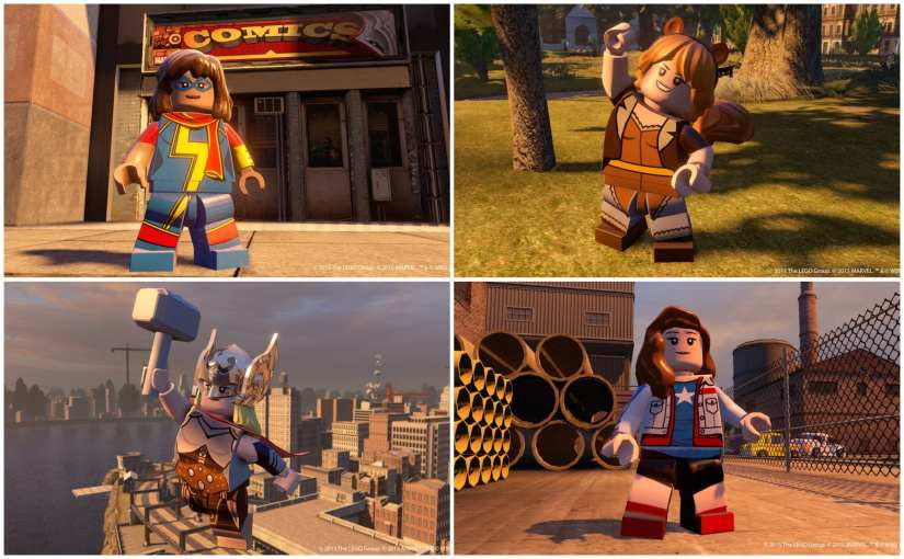 Review: LEGO Marvel's Avengers Videogame
