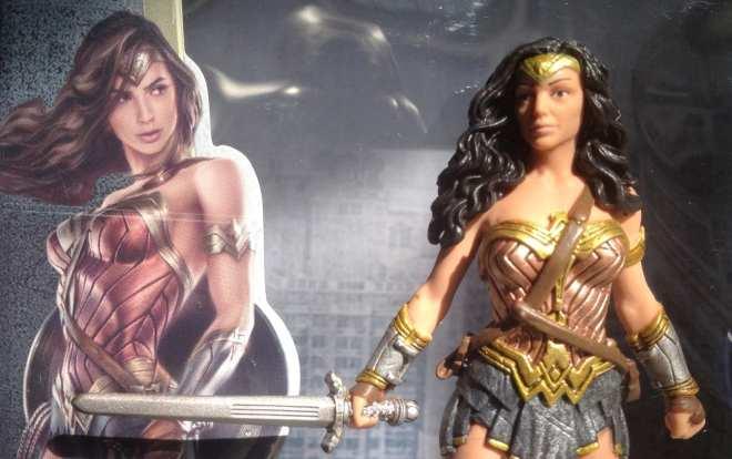 Gal Gadot Wonder Woman toy compare