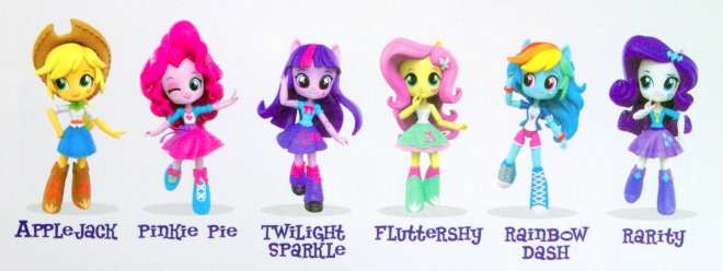 My Little Pony Equestria Girls Minis figures dolls