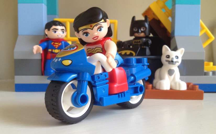 LEGO 10599 Duplo Super Heroes Batman Adventure, Lego Duplo Wonder Woman, Lego Duplo Batman, Lego Duplo Superman
