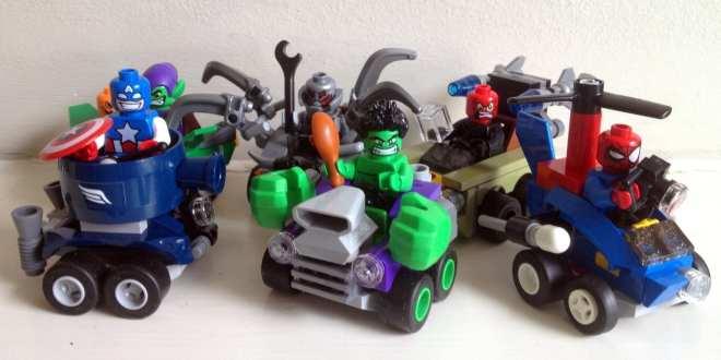 LEGO Marvel Super Heroes Mighty Micros packshot