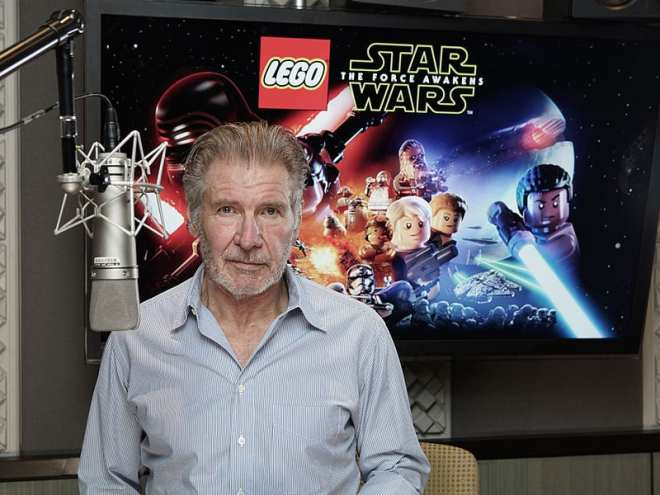 LEGO Star Wars The Force Awakens harrison ford