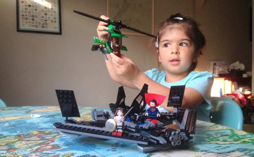 LEGO DC Heroes of Justice: Sky High Battle review (76046)